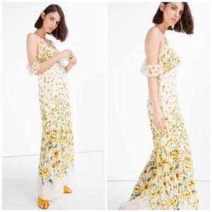 ZARA -  Floral Maxi Dress